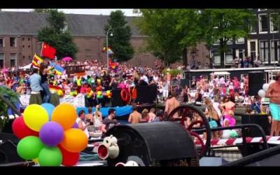 Gaypride Amsterdam Canal Parade